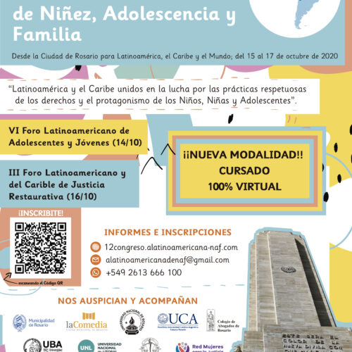 """""""XII Congreso Latinoamericano de Niñez, Adolescencia y Familia"""""""