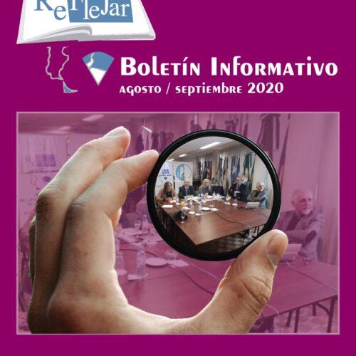 Boletín Informativo REFLEJAR- Agosto/septiembre 2020