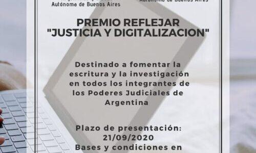 Identificación de Concursantes PREMIO REFLEJAR 2020