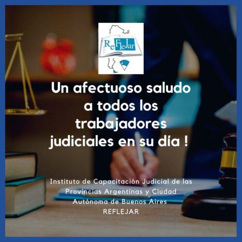 """16 de noviembre """"Día del Empleado Judicial"""""""
