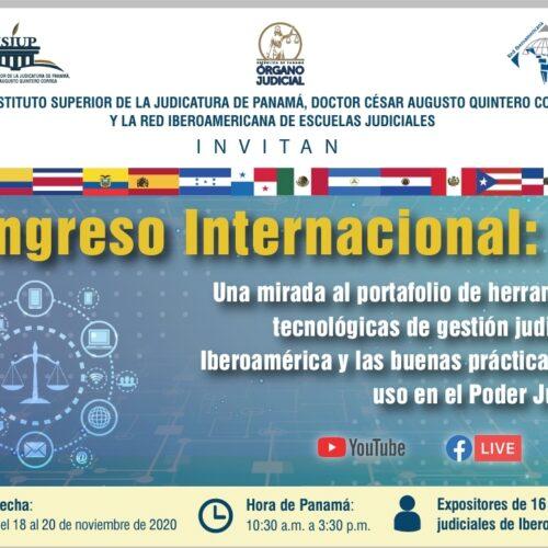 Congreso Internacional organizado por RIAEJ y el Instituto Superior de la Judicatura de Panamá