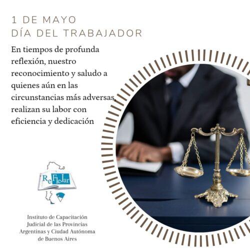 1° de Mayo – Día del Trabajador