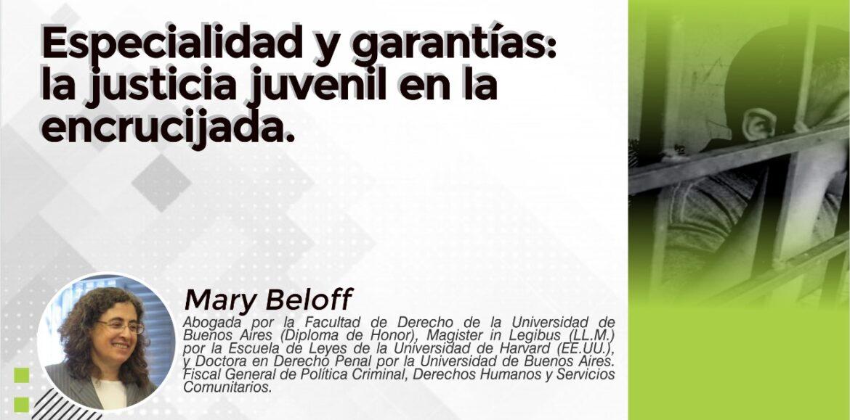 """Nuevo encuentro """"Especialidad y garantías: la justicia juvenil en la encrucijada"""""""