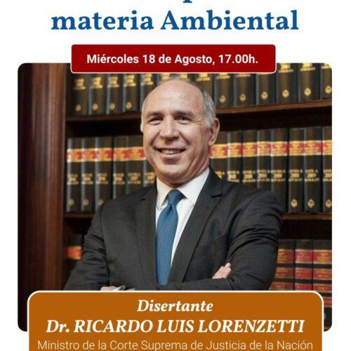 """WEBINAR JURISPRUDENCIA DE LA CORTE SUPREMA EN MATERIA AMBIENTAL (Instituto """"Dr. Juan Bautista Alberdi"""" – Entre Ríos)"""
