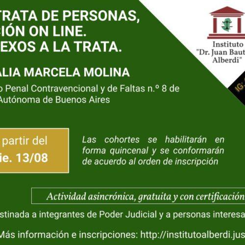 "CÁPSULA EDUCATIVA 03: CIBERCRIMEN, TRATA DE PERSONAS, CAPTACIÓN ON LINE. DELITOS CONEXOS A LA TRATA. (Instituto ""Dr. Juan Bautista Alberdi"" – Entre Ríos)"