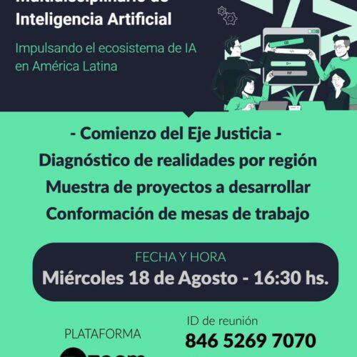 Difusión: Programa de Formación Multidisciplinario de Inteligencia Artificial