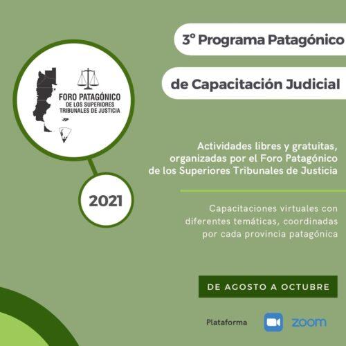 3° Programa Patagónico de Capacitación Judicial