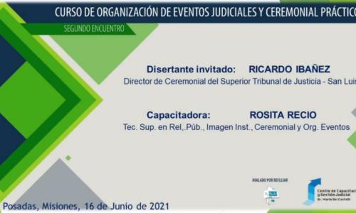 Organización de Eventos Judiciales y Ceremonial Práctico