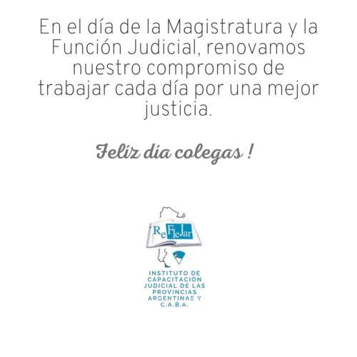 15 de septiembre – Día de la Magistratura y Función Judicial